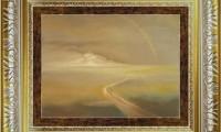 """""""ARCOBALENO 2008"""" -20X30 cm-  carta/pastello -Riproduzione-"""