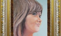 """""""AUTORITRATTO 2012"""" -30X40 cm- carta/pastello-"""