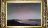 """""""LA NOTTE 2007"""" -30X40 cm-  carta/pastello -Riproduzione-"""