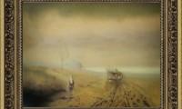 """""""DISGELO D'AUTUNNO 2007"""" -20X30 cm-  carta/pastello -Riproduzione-"""