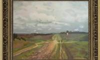 """""""VLADIMIRKA 2008"""" -30X40 cm- olio su tela -Riproduzione-"""